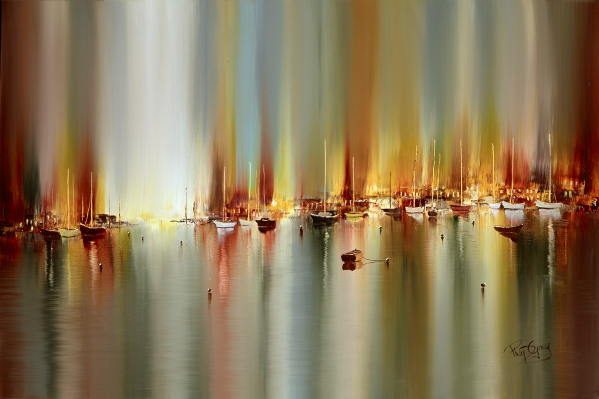 Boats in the Harbour V